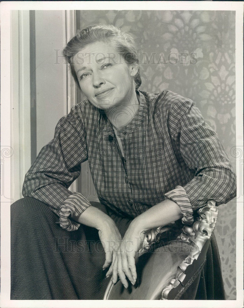1964 Actress Virginia Christine TV Show Tales of Wells Fargo Press Photo - Historic Images