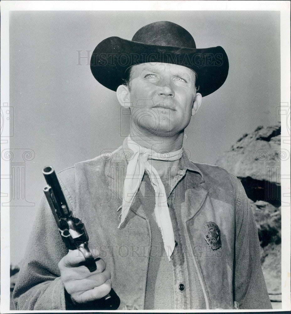 1964 TV Westerns Actor Don Collier Press Photo - Historic Images