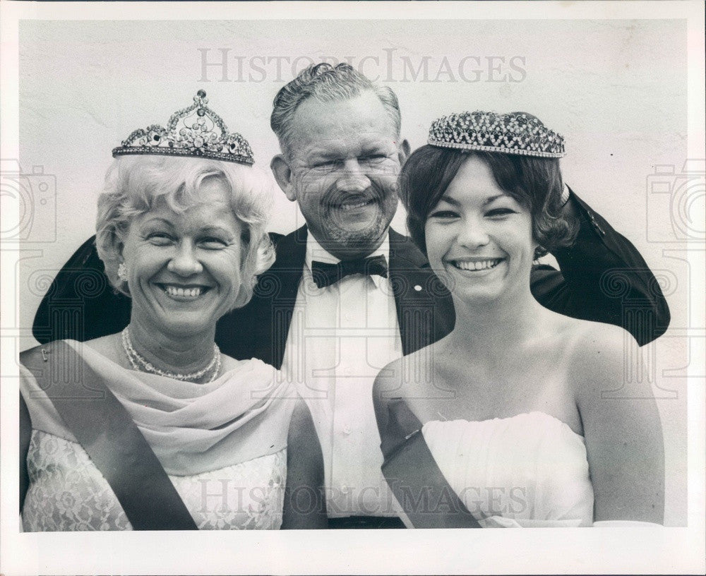 1964 St Petersburg, FL Miss Funtime Pat Sweeney, Mrs H Rodman Press Photo - Historic Images