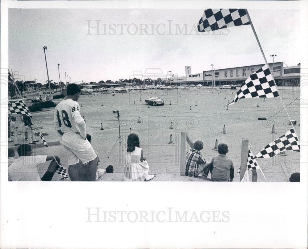 1965 St Petersburg, FL Funtime Sports Car Gymkhana Press Photo - Historic Images