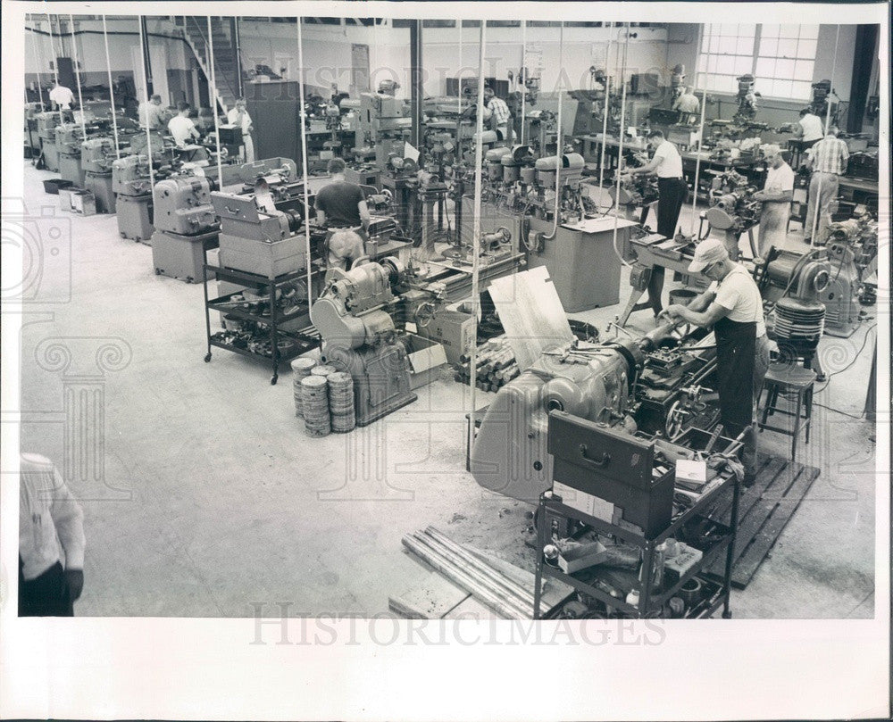1962 Gulfport, FL Florida Machine Products Co Press Photo - Historic Images