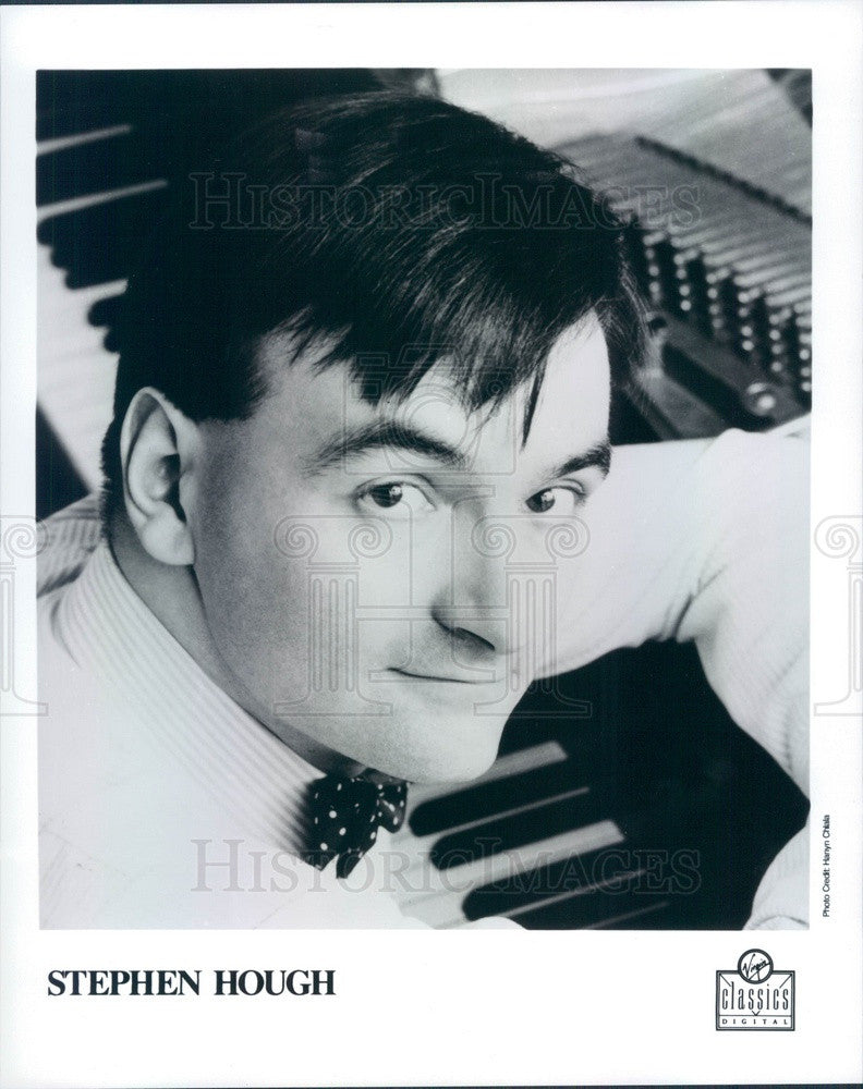 1991 Concert Pianist Stephen Hough Press Photo - Historic Images