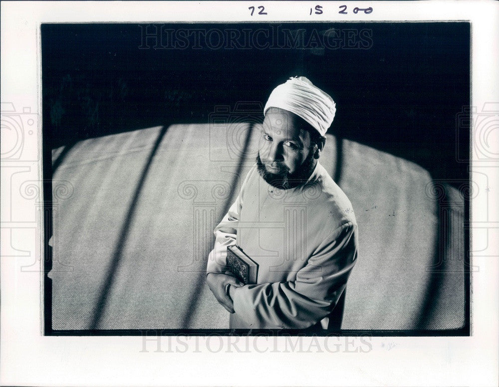 1988 Denver, Colorado Spiritual Leader Ismail Hskaiv Press Photo - Historic Images