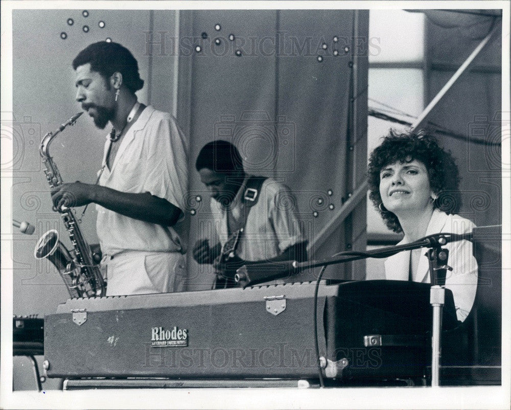 1980 Detroit, MI Montreux Jazz Festival, Lenore Paxton Press Photo - Historic Images