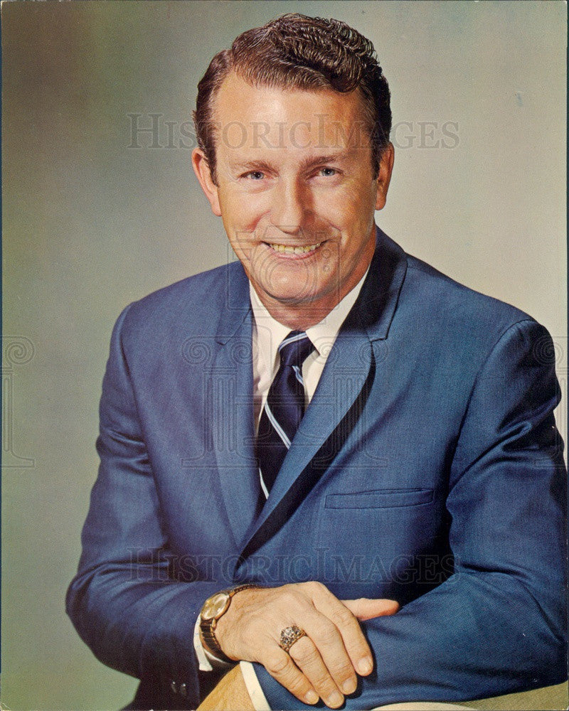 1975 Accordionist Myron Floren from TV Show Lawrence Welk Press Photo - Historic Images