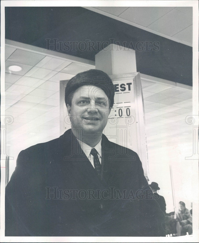 1966 Canadian Opera Singer, Baritone Norman Mittelmann Press Photo - Historic Images