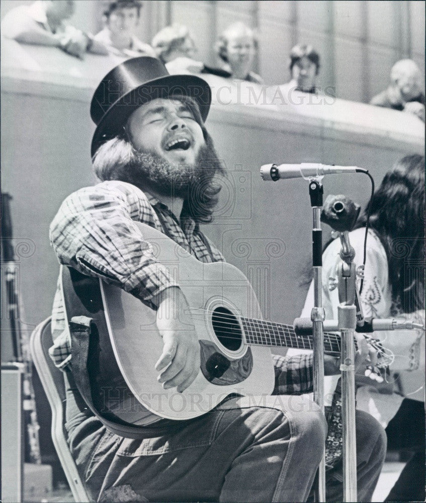 1973 Denver, Colorado Musician Randy Handley Press Photo - Historic Images