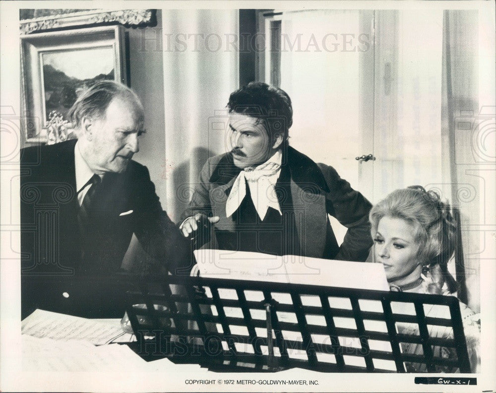 Undated Actors Mary Costa/Horst Buchholz & Director Andrew Stone Press Photo - Historic Images