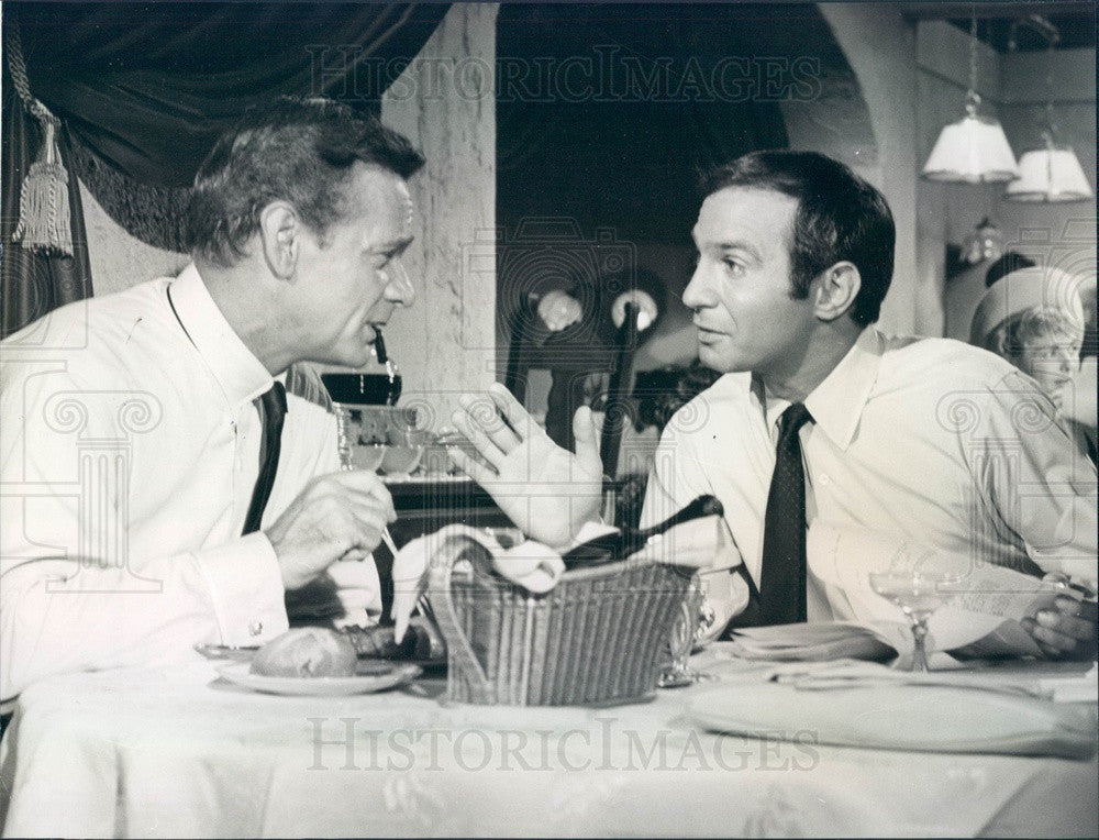 Undated American Actor Ben Gazzara Press Photo - Historic Images