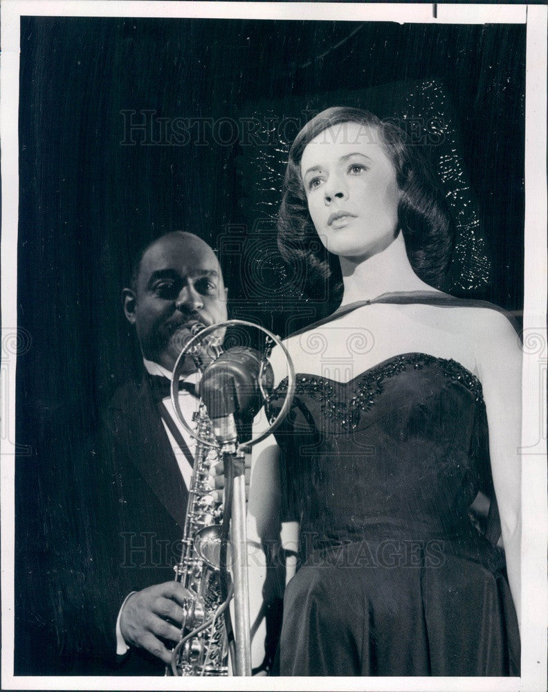 1963 Emmy Winning Hollywood Actress Piper Laurie Press Photo - Historic Images
