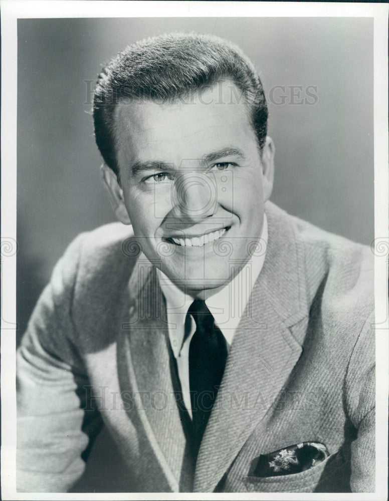 1968 TV Host, Singer & DJ Wink Martindale Press Photo - Historic Images