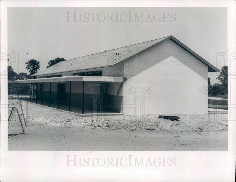 1952 St Petersburg, Florida Rio Vista School Press Photo - Historic Images
