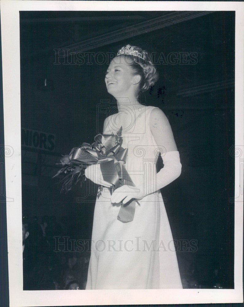1970 Florida, Miss Seminole Crystal Johnson Press Photo - Historic Images