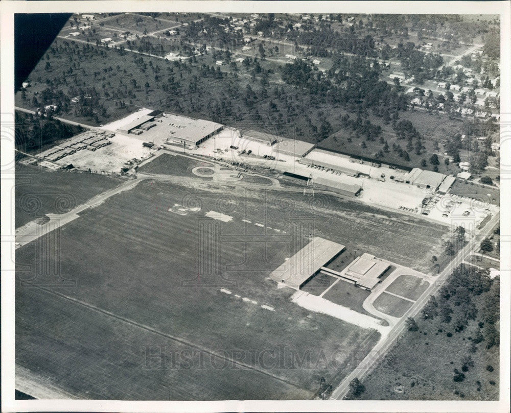 1964 Pinellas County, Florida High Point Service Center Aerial View Press Photo - Historic Images
