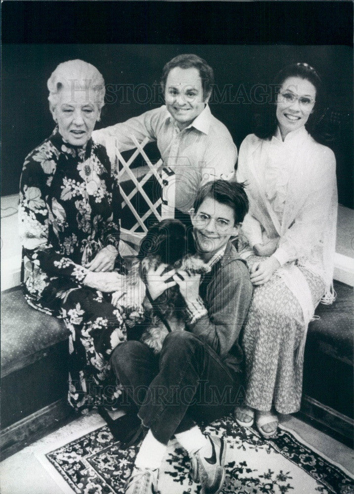 1982 Actors Gary Burghoff, Emma Trekman, Sally Cleaver, John Harlan Press Photo - Historic Images