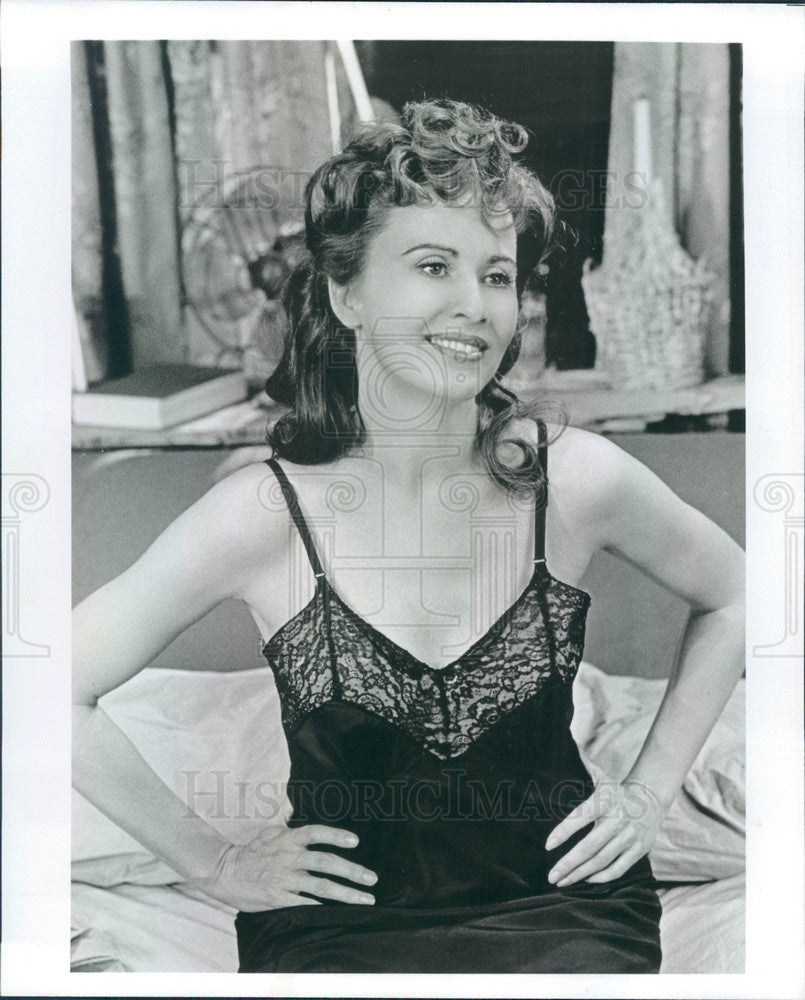1988 Actress Kate Nelligan in Spoils of War on Broadway Press Photo - Historic Images