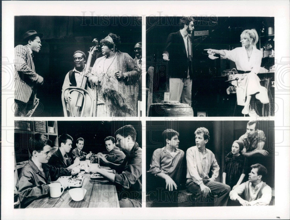1985 Scenes From Tony Nominated Plays Ma Rainey's Black Bottom Press Photo - Historic Images