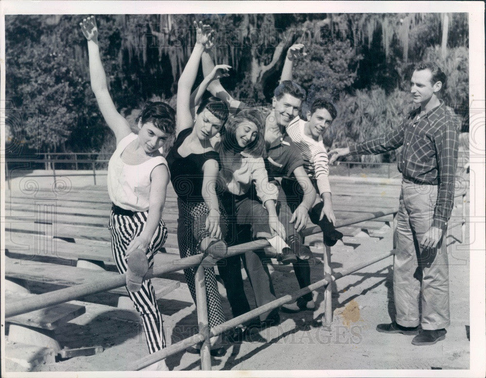 1955 Florida Aflame, Drama of the Seminoles, Director William Wood Press Photo - Historic Images