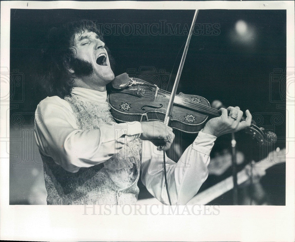 1977 Country Musician Doug Kershaw Press Photo - Historic Images
