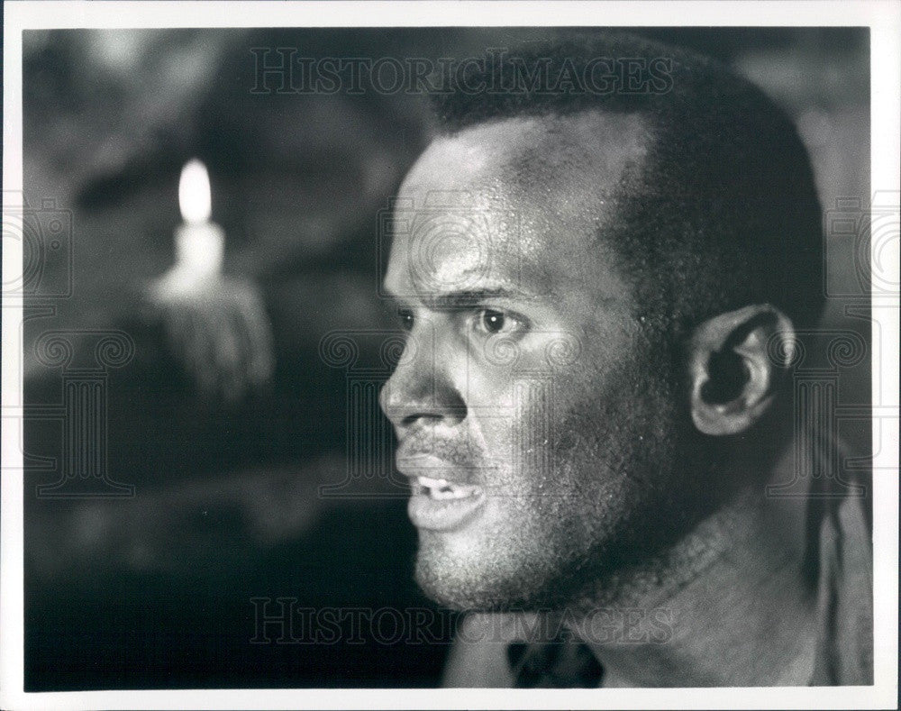 1969 American Singer/Actor Harry Belafonte Press Photo - Historic Images
