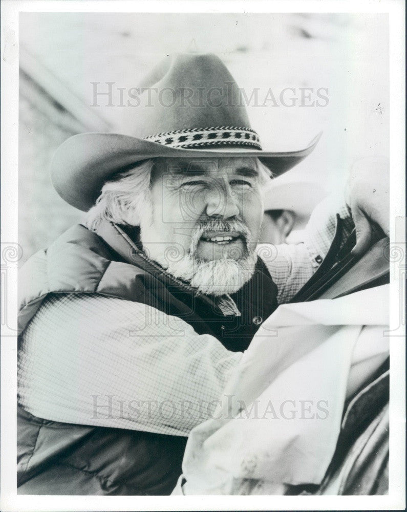 1985 Singer/Actor Kenny Rogers Press Photo - Historic Images