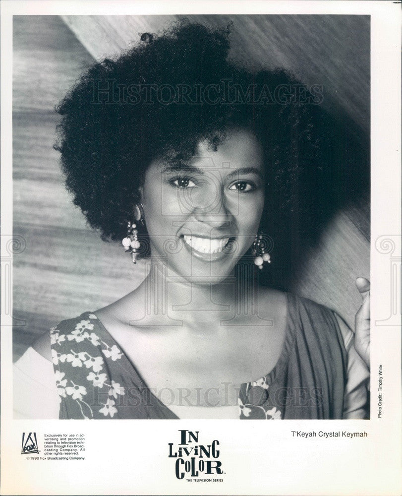 2001 Hollywood Actor T'Keyah Crystal Keymah TV Show In Living Color Press Photo - Historic Images