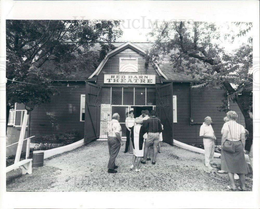1985 Saugatuck, Michigan Red Barn Theatre Press Photo - Historic Images