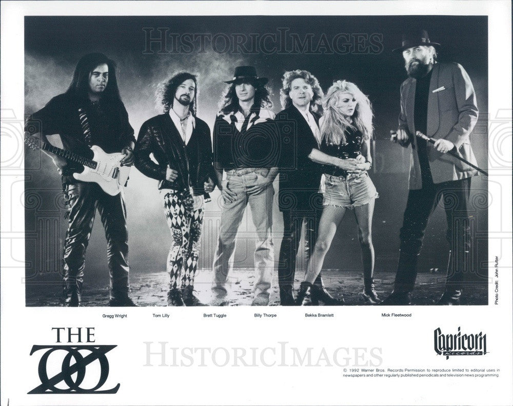 1992 Musicians The Zoo Press Photo - Historic Images