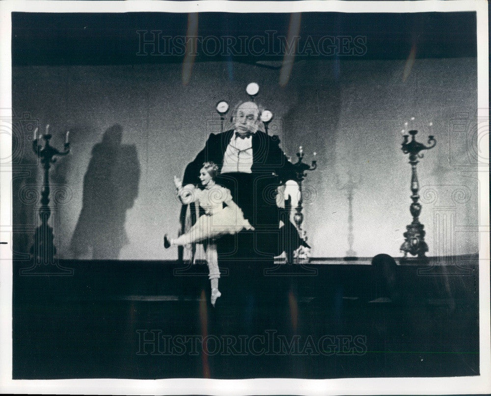 1969 Scene from Laterna Magika Production of Tales of Hoffman Press Photo - Historic Images