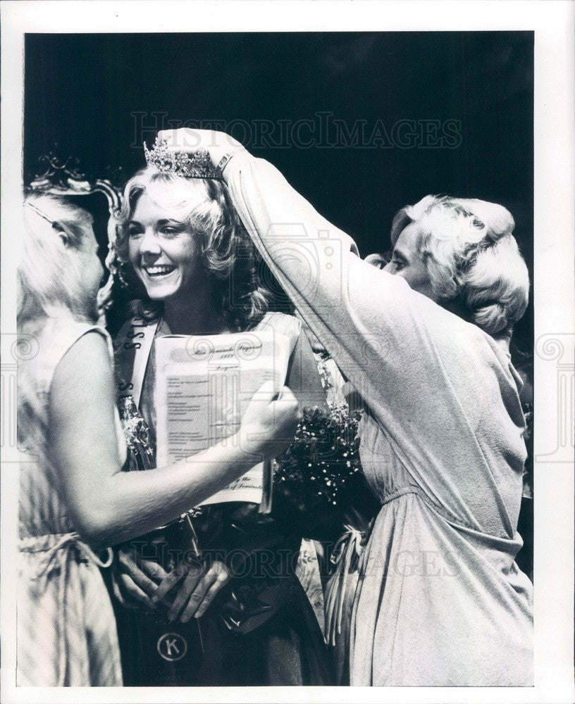 1979 Miss Seminole, Florida Kathryn Parker & Diana Chambers Press Photo - Historic Images