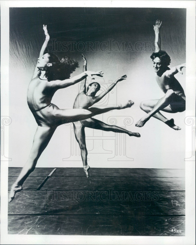 1984 Lar Lubovitch Dance Company Performing Big Shoulders Press Photo - Historic Images
