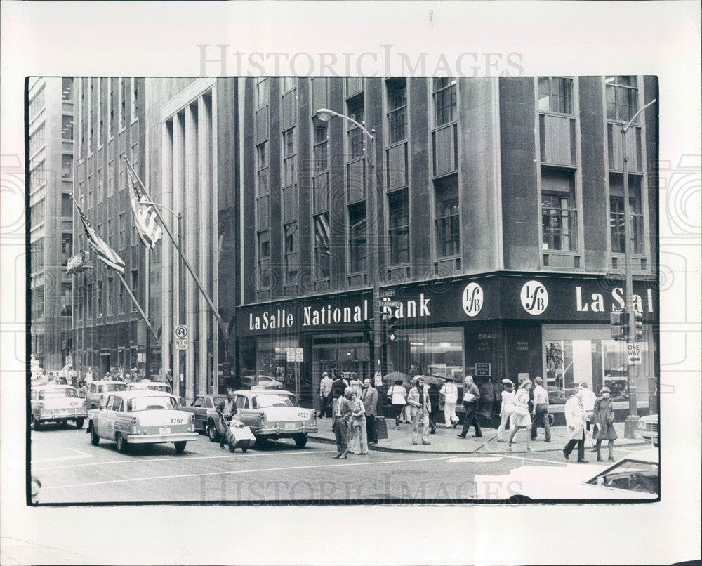1977 Chicago, Illinois La Salle National Bank Press Photo - Historic Images
