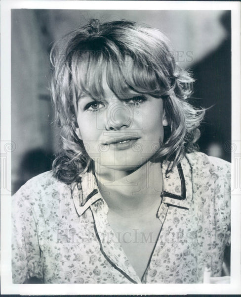 1971 English Actress Judy Geeson Press Photo - Historic Images