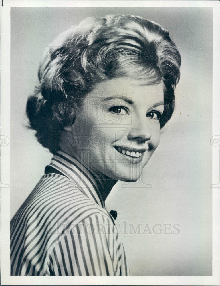 1968 American Hollywood Actress/Dancer/Singer Virginia Gibson Press Photo - Historic Images