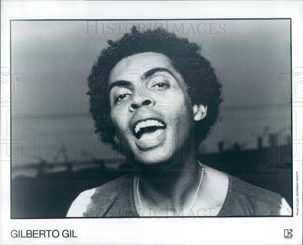 1979 Brazilian Musician Gilberto Gil Press Photo - Historic Images