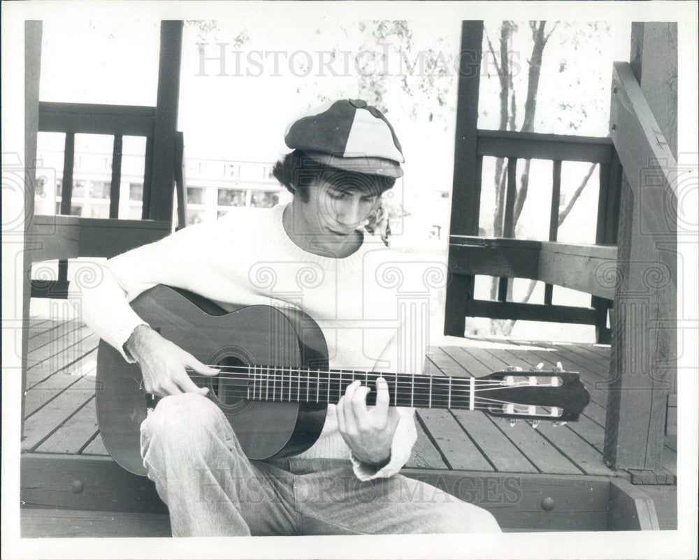 1982 Fingerstyle Guitarist & Composer Richard Gilewitz Press Photo - Historic Images