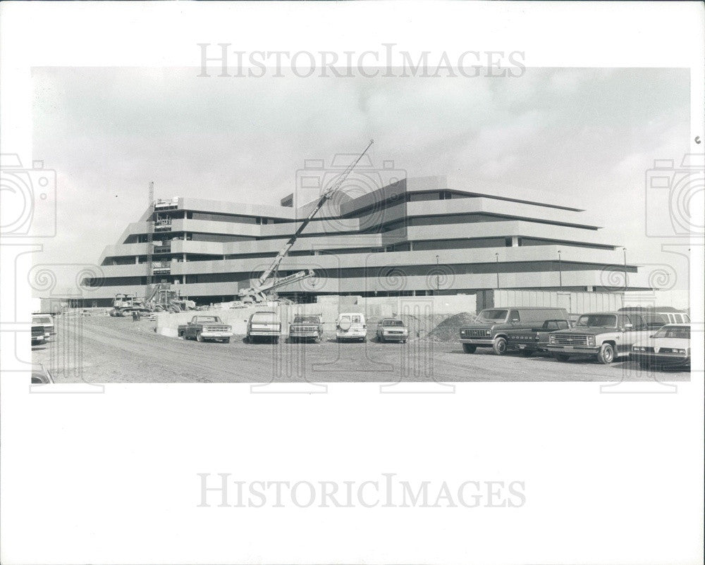 1988 Troy, Michigan Standard Federal Bank Construction Press Photo - Historic Images