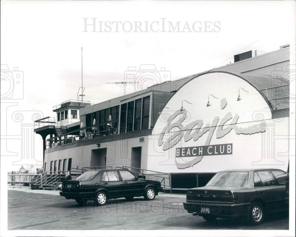 1991 Detroit, Michigan Baja Beach Club Press Photo - Historic Images