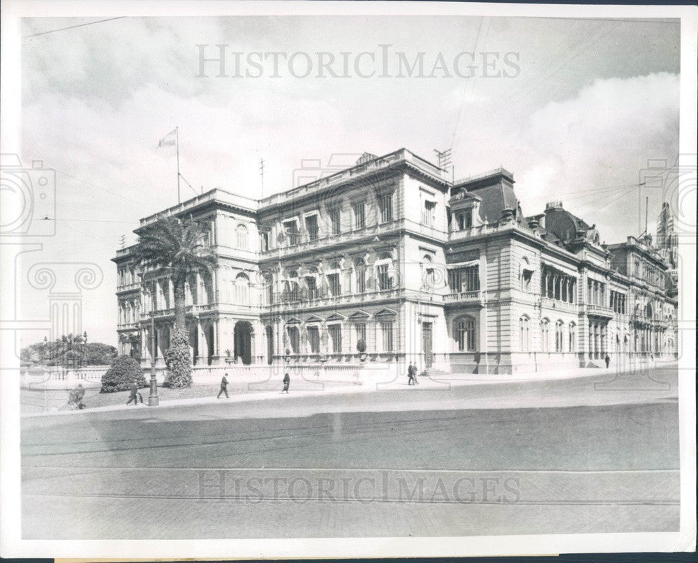 1943 Buenos Aires, Argentina Casa Rosada Government House Press Photo - Historic Images