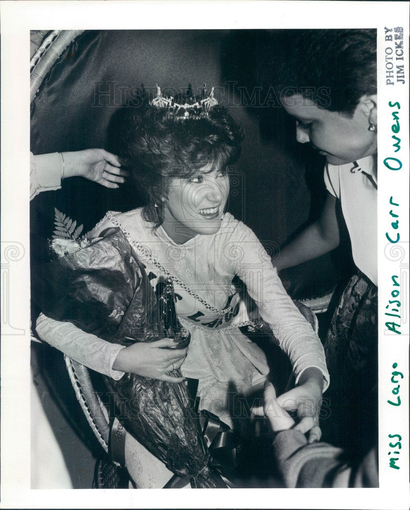 1982 Miss Largo, Florida 1982 Allison Owens Press Photo - Historic Images