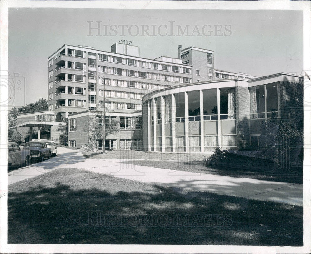 1958 East Lansing, MI Michigan State University Kellogg Center Press Photo - Historic Images