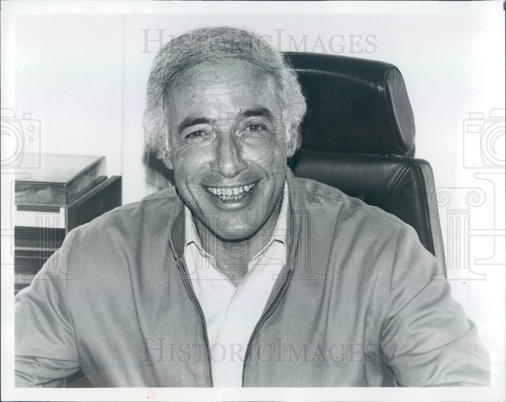 1986 Hollywood Film & TV Director Bud Yorkin Press Photo - Historic Images