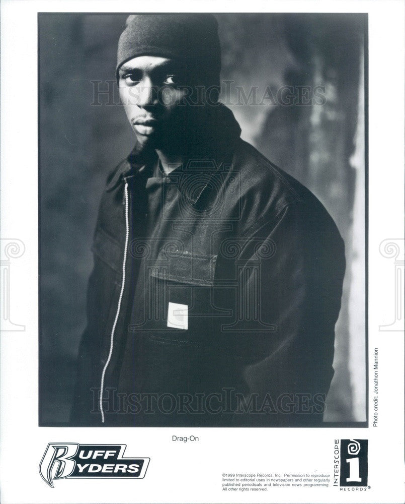 2001 American Rapper Drag-On Press Photo - Historic Images