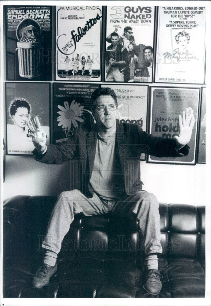 1993 American Actor/Singer Mike Rupert Press Photo - Historic Images