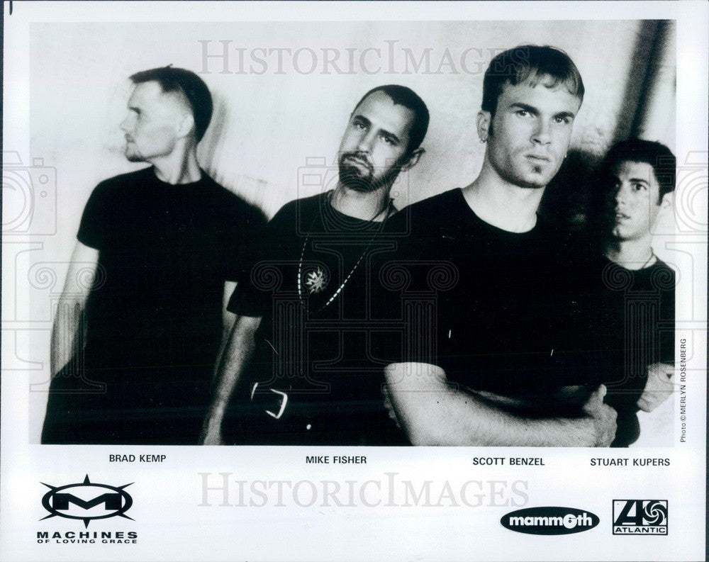 1993 American Industrial Rock Band Machines of Loving Grace Press Photo - Historic Images