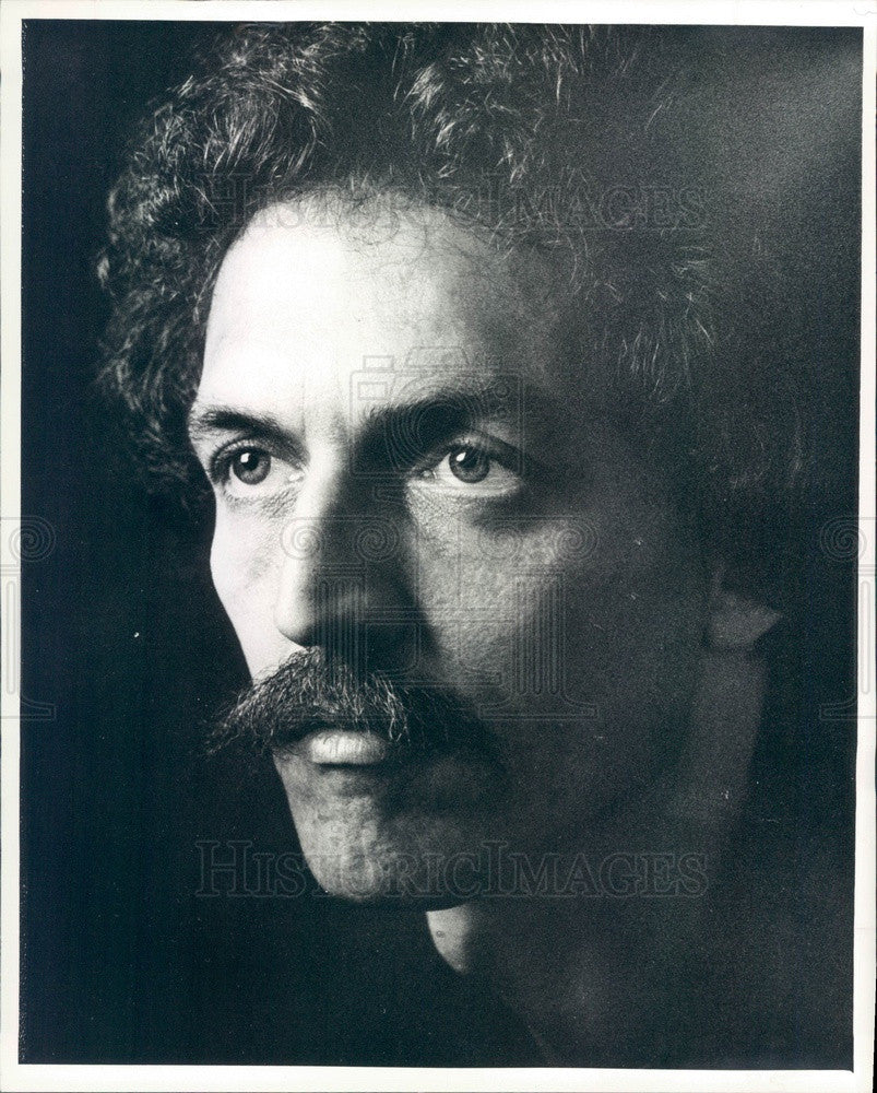 1979 Musician Randy Edwards Press Photo - Historic Images