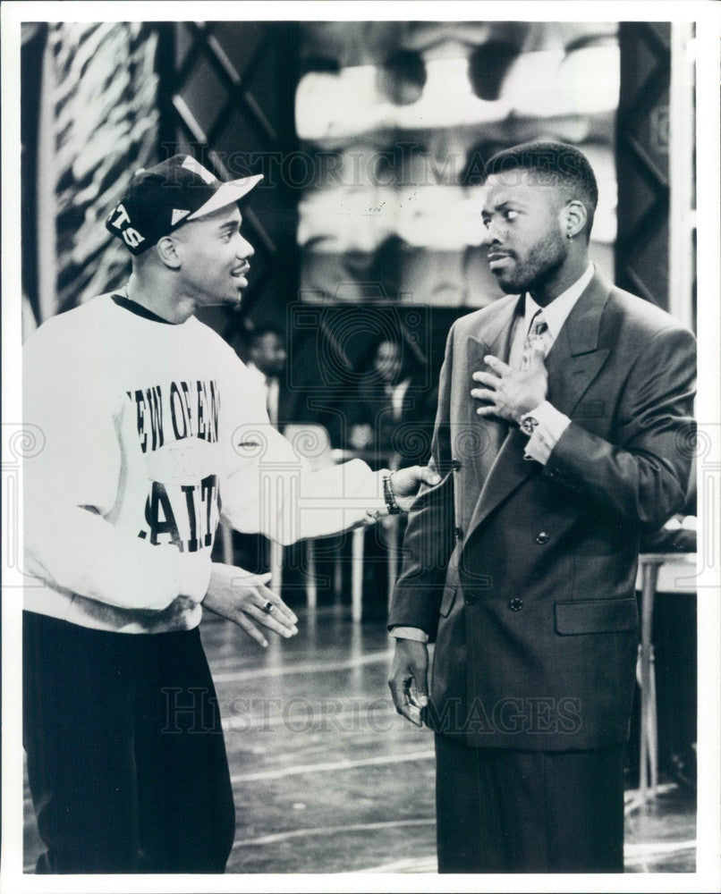 1992 Actors Duane Martin & Kadeem Hardison TV Show Out All Night Press Photo - Historic Images