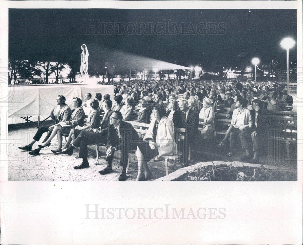 1967 Miss St Petersburg, Florida Contest Press Photo - Historic Images