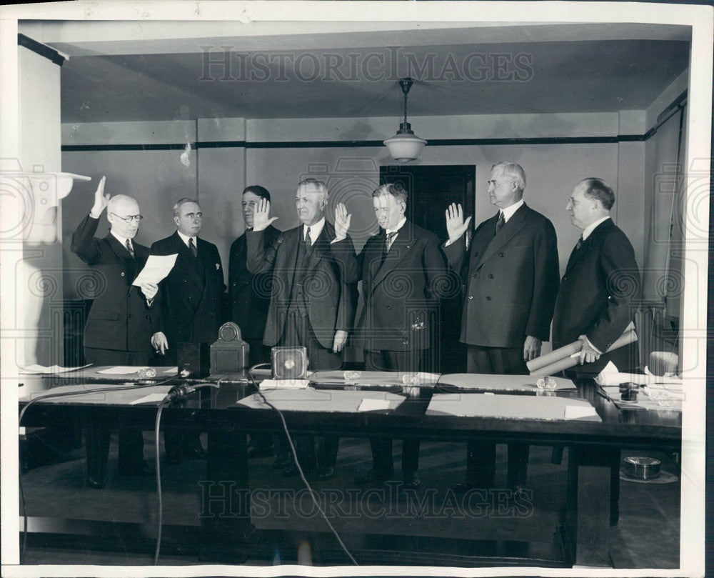 1932 Washington, DC Federal Reconstruction Finance Corp Directors Press Photo - Historic Images