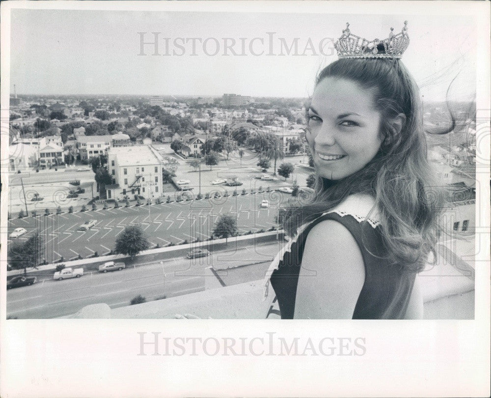 1970 Miss St Petersburg, Florida 1970 Press Photo - Historic Images
